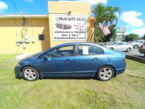 Honda Civic For Sale In West Melbourne Fl Palm Auto Sales