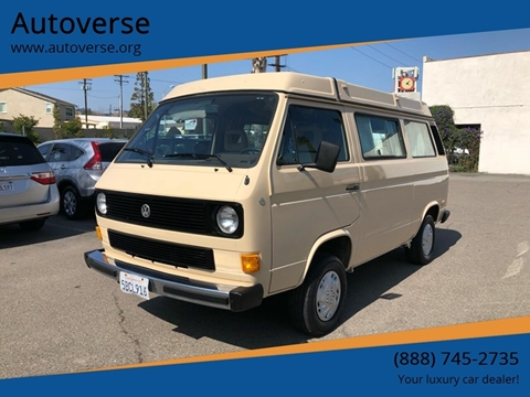 1985 Volkswagen Vanagon for sale in La Habra, CA