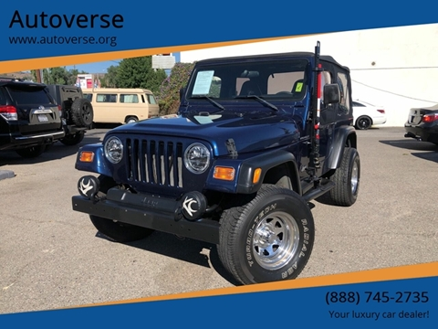 2001 Jeep Wrangler for sale in La Habra, CA