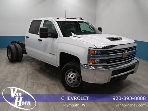 2017 Chevrolet Silverado 3500HD CC for sale in Plymouth, WI