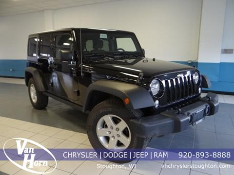 2016 Jeep Wrangler Unlimited for sale in Stoughton, WI