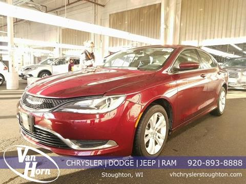 2016 Chrysler 200 for sale in Stoughton, WI