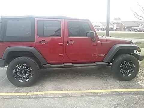 2011 Jeep Wrangler Unlimited for sale in Stoughton, WI