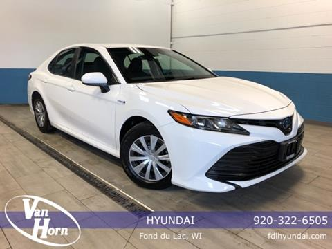 2018 Toyota Camry Hybrid for sale in Fond Du Lac, WI