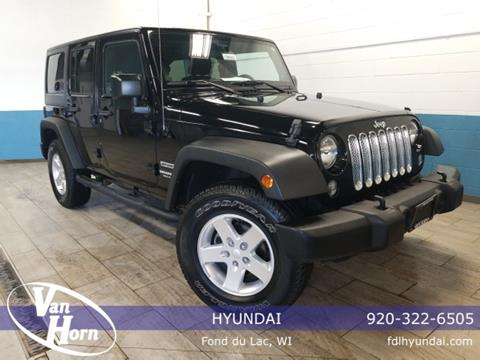 2014 Jeep Wrangler Unlimited for sale in Fond Du Lac, WI