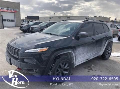 2016 Jeep Cherokee for sale in Fond Du Lac, WI