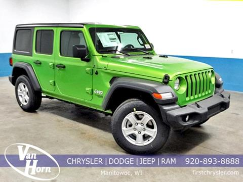 2019 Jeep Wrangler Unlimited for sale in Manitowoc, WI