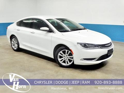 2016 Chrysler 200 for sale in Manitowoc, WI