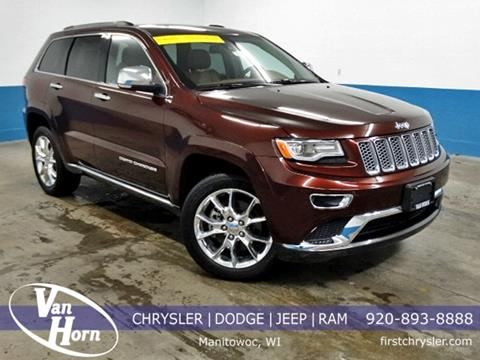 2015 Jeep Grand Cherokee for sale in Manitowoc, WI