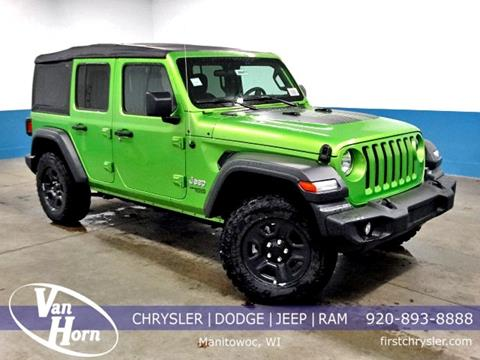 2018 Jeep Wrangler Unlimited for sale in Manitowoc, WI