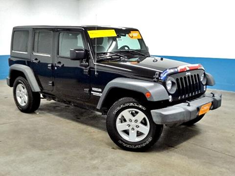 2015 Jeep Wrangler Unlimited for sale in Manitowoc, WI
