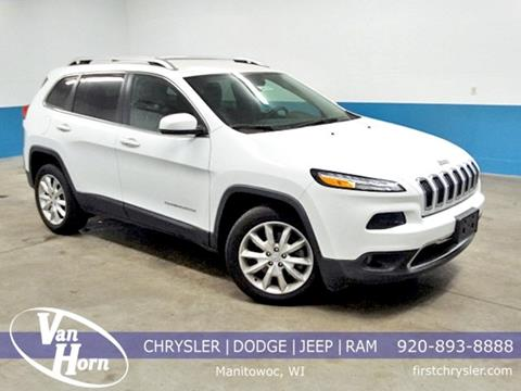 2017 Jeep Cherokee for sale in Manitowoc, WI