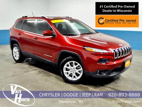 2015 Jeep Cherokee for sale in Manitowoc, WI