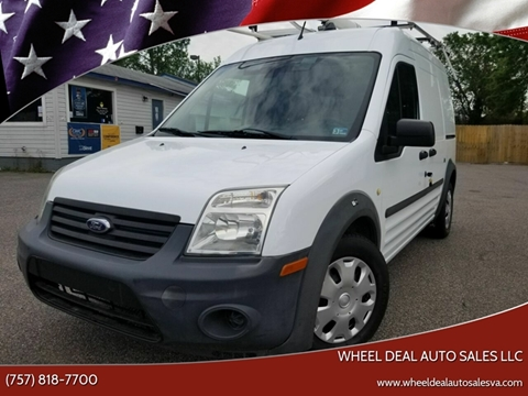 2012 Ford Transit Connect for sale at Wheel Deal Auto Sales LLC in Norfolk VA