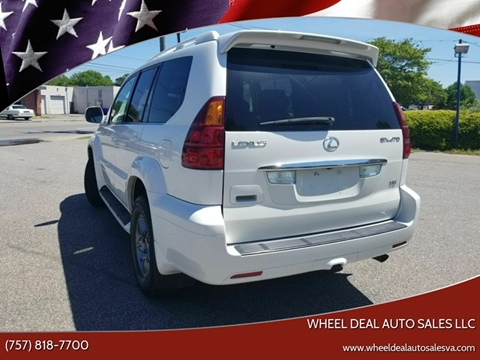 2004 Lexus GX 470 for sale at Wheel Deal Auto Sales LLC in Norfolk VA