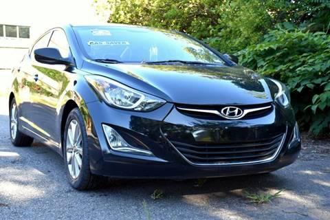 2016 Hyundai Elantra for sale at Wheel Deal Auto Sales LLC in Norfolk VA