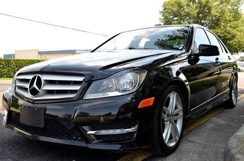 2012 Mercedes-Benz C-Class for sale at Wheel Deal Auto Sales LLC in Norfolk VA