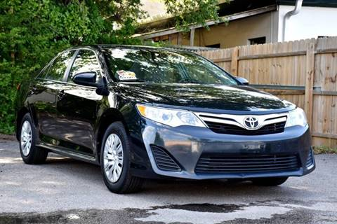 2013 Toyota Camry for sale at Wheel Deal Auto Sales LLC in Norfolk VA