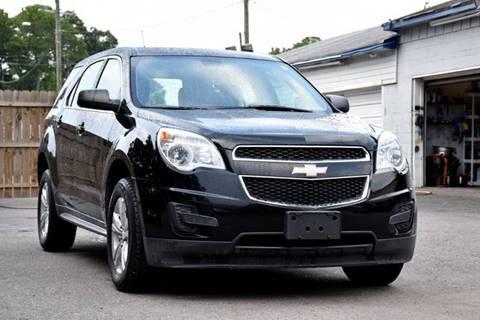2011 Chevrolet Equinox for sale at Wheel Deal Auto Sales LLC in Norfolk VA