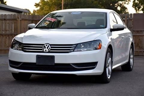 2013 Volkswagen Passat for sale at Wheel Deal Auto Sales LLC in Norfolk VA