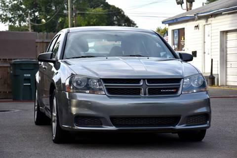 2013 Dodge Avenger for sale at Wheel Deal Auto Sales LLC in Norfolk VA