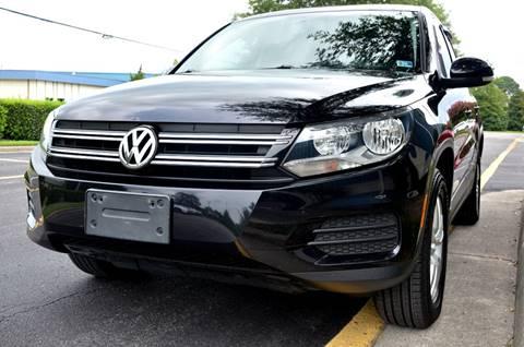 2013 Volkswagen Tiguan for sale at Wheel Deal Auto Sales LLC in Norfolk VA