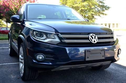 2012 Volkswagen Tiguan for sale at Wheel Deal Auto Sales LLC in Norfolk VA