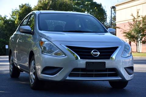 2016 Nissan Versa for sale at Wheel Deal Auto Sales LLC in Norfolk VA