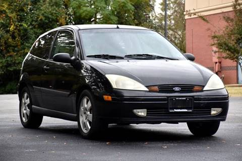 2002 Ford Focus for sale at Wheel Deal Auto Sales LLC in Norfolk VA