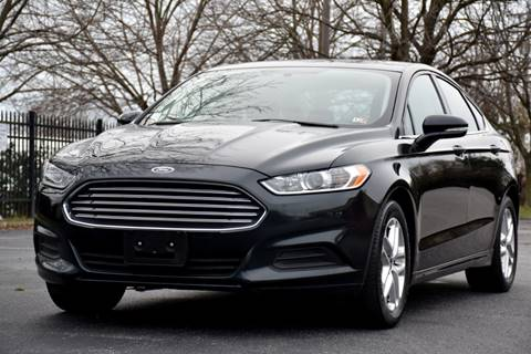 2014 Ford Fusion for sale at Wheel Deal Auto Sales LLC in Norfolk VA