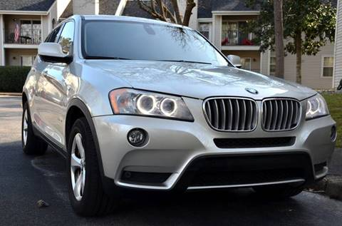 2011 BMW X3 for sale at Wheel Deal Auto Sales LLC in Norfolk VA