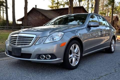 2011 Mercedes-Benz E-Class for sale at Wheel Deal Auto Sales LLC in Norfolk VA