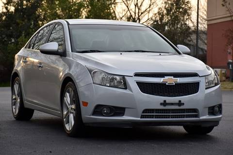 2012 Chevrolet Cruze for sale at Wheel Deal Auto Sales LLC in Norfolk VA