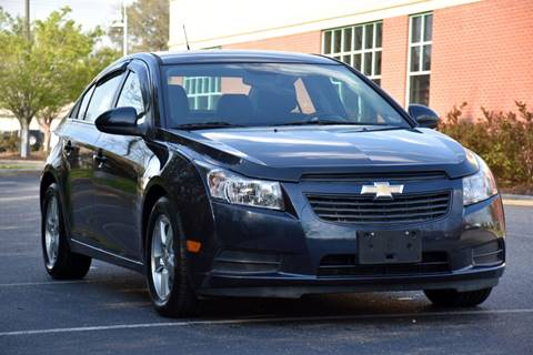 2013 Chevrolet Cruze for sale at Wheel Deal Auto Sales LLC in Norfolk VA