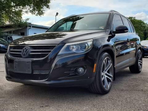 2011 Volkswagen Tiguan for sale at Wheel Deal Auto Sales LLC in Norfolk VA