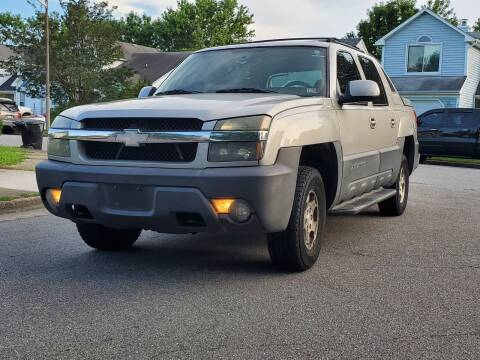 2004 Chevrolet Avalanche for sale at Wheel Deal Auto Sales LLC in Norfolk VA