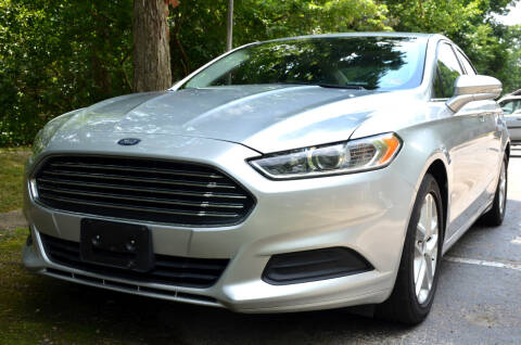 2016 Ford Fusion for sale at Wheel Deal Auto Sales LLC in Norfolk VA