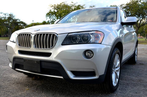 2013 BMW X3 for sale at Wheel Deal Auto Sales LLC in Norfolk VA
