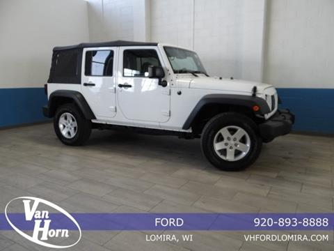 2015 Jeep Wrangler Unlimited for sale in Lomira, WI