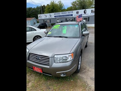 2006 Subaru Forester for sale in Salisbury, MA