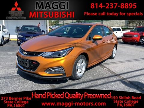 State College Motors >> 2017 Chevrolet Cruze For Sale In State College Pa