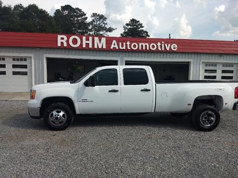 2009 GMC Sierra 3500HD for sale in Cropwell, AL