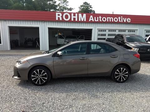 2017 Toyota Corolla for sale in Cropwell, AL
