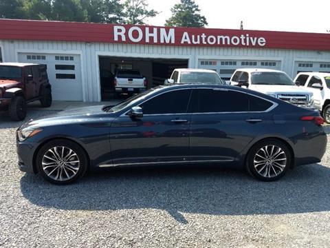 2015 Hyundai Genesis for sale in Cropwell, AL