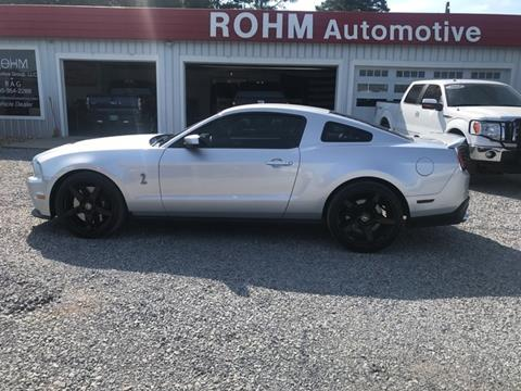 2012 Ford Shelby GT500 for sale in Cropwell, AL