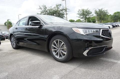 2020 Acura TLX for sale in Pembroke Pines, FL