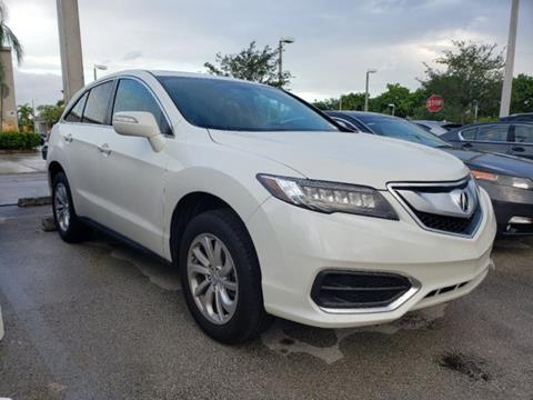 2018 Acura RDX for sale in Pembroke Pines, FL