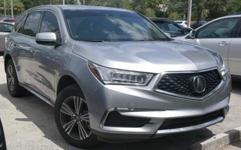 2018 Acura MDX for sale in Pembroke Pines, FL