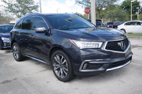 2019 Acura MDX for sale in Pembroke Pines, FL