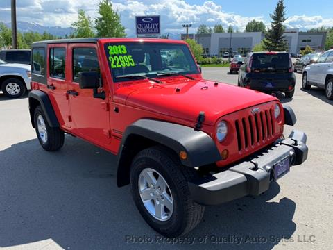 2013 Jeep Wrangler Unlimited for sale in Anchorage, AK